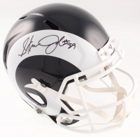 Steven Jackson Signed Rams Full-Size Speed Helmet (Beckett COA) at PristineAuction.com