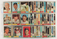 Lot of (142) 1961 Topps Baseball Cards with #413 Eddie Yost, #459 Terry Fox RC, #448 Del Rice at PristineAuction.com