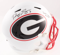 Roquan Smith Signed Georgia Bulldogs Full-Size AMP Alternate Speed Helmet (Beckett COA) at PristineAuction.com
