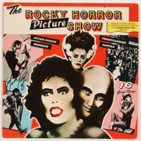 "Meat Loaf Signed ""The Rocky Horror Picture Show"" Vinyl Record Album Cover (AutographCOA COA) at PristineAuction.com"