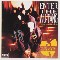 "Method Man Signed Wu-Tang Clan ""Enter the Wu-Tang (36 Chambers)"" Vinyl Record Album Cover (AutographCOA COA) at PristineAuction.com"