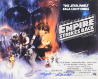 "Roger Kastel Signed ""The Empire Strikes Back"" 16x20 Photo (AutographCOA Hologram) at PristineAuction.com"