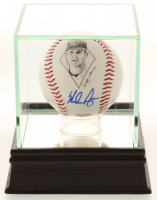 Nolan Ryan Signed LE Career Commemorative Baseball with High Quality Display Case (PSA COA) at PristineAuction.com