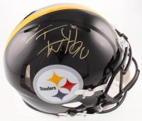 T.J. Watt Signed Steelers Full-Size Authentic On-Field Speed Helmet (JSA COA & Watt Hologram) at PristineAuction.com