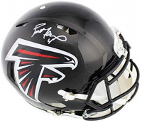 Brett Favre Signed Falcons Full-Size Authentic On-Field Speed Helmet (Radtke COA) at PristineAuction.com