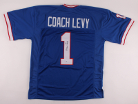 Marv Levy Signed Jersey (Beckett COA) at PristineAuction.com
