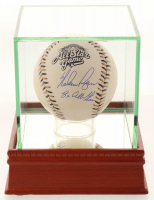 """Nolan Ryan Signed 2002 All-Star Game Baseball with High Quality Display Case Inscribed """"8x All Star"""" (PSA COA) at PristineAuction.com"""