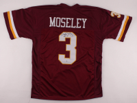 """Mark Moseley Signed Jersey Inscribed """"MVP 82"""" (Beckett COA) at PristineAuction.com"""
