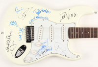 Sound City Full-Size Electric Guitar Signed by (10) with Dave Grohl, Alain Johannes, Brad Wilk, Krist Novoselic (AutographCOA LOA) at PristineAuction.com