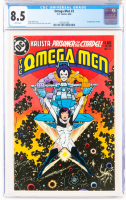 "1983 ""The Omega Men"" Issue #3 DC Comic Book (CGC 8.5) at PristineAuction.com"