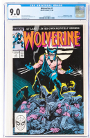 "1988 ""Wolverine"" Vol. 2 Issue #1 Marvel Comic Book (CGC 9.0) at PristineAuction.com"