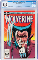 "1982 ""Wolverine"" Issue #1 Marvel Comic Book (CGC 9.6) at PristineAuction.com"