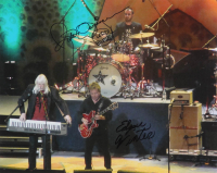 "Edgar Winter & Rick Derringer Signed 11x14 Photo Inscribed ""Lord Bless"" (AutographCOA Hologram) at PristineAuction.com"