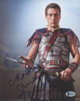 "Simon Merrells Signed ""Spartacus"" 8x10 Photo (Beckett COA) at PristineAuction.com"