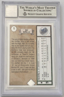 Ken Griffey Jr. Signed 1989 Upper Deck #1 RC (BGS Encapsulated) at PristineAuction.com