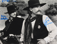 """Kurt Russell & Val Kilmer Signed """"Tombstone"""" 11x14 Photo Inscribed """"Doc Holliday"""" (AutographCOA Hologram) at PristineAuction.com"""