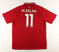 Mohamed Salah Signed Liverpool Jersey (Beckett COA) at PristineAuction.com