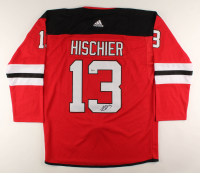 Nico Hischier Signed New Jersey Devils Jersey (Beckett COA) at PristineAuction.com