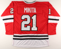Stan Mikita Signed Jersey (Beckett COA) at PristineAuction.com