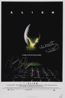 "Veronica Cartwright & Walter Hill Signed ""Alien"" 12x18 Photo Inscribed ""Lambert"" (AutographCOA Hologram) at PristineAuction.com"