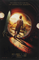 """""""The Hobbit"""" 12x18 Photo Signed by (9) with Aidan Turner, Jed Brophy, John Callen, Martin Freeman, Richard Armitage, Stephen Hunter (AutographCOA Hologram) at PristineAuction.com"""