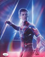 "Tom Holland Signed ""Avengers: Infinity War"" 8x10 Photo (JSA COA) at PristineAuction.com"