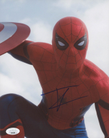 "Tom Holland Signed ""Captain America: Civil War"" 8x10 Photo (JSA COA) at PristineAuction.com"
