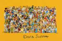 """David Silverman Signed """"The Simpsons"""" 12x18 Photo (AutographCOA Hologram) at PristineAuction.com"""