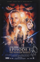 "Ray Park Signed ""Star Wars: Episode I – The Phantom Menace"" 12x18 Photo (AutographCOA Hologram) at PristineAuction.com"