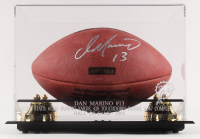 Dan Marino Signed Dolphins Logo Football with High Quality Display Case (Mounted Memories COA) at PristineAuction.com