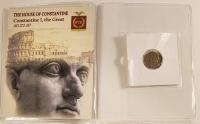 Constantine I Roman Bronze Coin AD 272-337 at PristineAuction.com