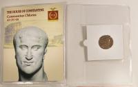 Constantius Chlorus Roman Bronze Coin AD 293-306 at PristineAuction.com