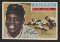 Willie Mays 1956 Topps #130 at PristineAuction.com