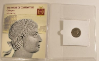 Crispus Roman Bronze Coin AD 304-326 at PristineAuction.com