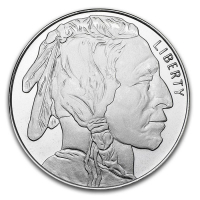 Buffalo 1 Troy Ounce .999 Silver Bullion Round at PristineAuction.com