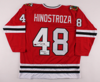 "Vinnie Hinostroza Signed Jersey Inscribed ""Chicago's Own"" (Hinostroza COA) at PristineAuction.com"