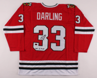 """Scott Darling Signed Jersey Inscribed """"2015 SC Champs"""" (Darling COA) at PristineAuction.com"""