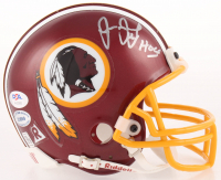 "Joe Jacoby Signed Redskins Mini Helmet Inscribed ""Hogs"" (PSA COA) at PristineAuction.com"