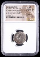 286-310 AD Roman Empire Maximian BI Aurelianianus (3.71g) (MS Strike: 4/5, Surface: 4/5) at PristineAuction.com