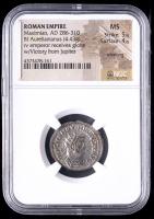 286-310 AD Roman Empire Maximian BI Aurelianianus (4.43g) (MS Strike: 5/5, Surface: 4/5) at PristineAuction.com
