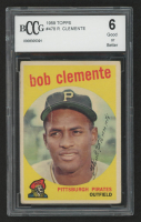 Roberto Clemente 1959 Topps #478 (BCCG 6) at PristineAuction.com