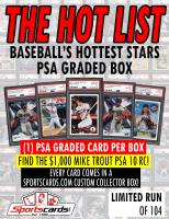 """The Hot List"" Baseball's Hottest Stars PSA Graded Box - PSA 9's & 10's Mystery Box! at PristineAuction.com"