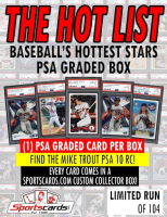 """The Hot List"" Baseball's Hottest Stars PSA Graded Box - PSA 9's & 10's Mystery Box! at PristineAuction.com"