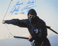 "Sho Kosugi Signed ""Revenge of the Ninja"" 16x20 Photo Inscribed ""Good Luck!"" (AutographCOA Hologram) at PristineAuction.com"
