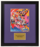 """LeRoy Neiman """"Indianapolis 500"""" 16x19 Custom Framed Print Display at PristineAuction.com"""