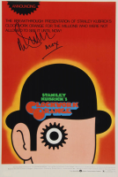 "Malcolm McDowell Signed ""A Clockwork Orange"" 12x18 Photo Inscribed ""Alex"" (AutographCOA Hologram) at PristineAuction.com"