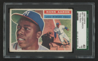 Hank Aaron 1956 Topps #31 (SGC 3) at PristineAuction.com