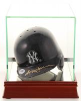 Reggie Jackson Signed Yankees Batting Mini Helmet with High Quality Display Case (PSA COA) at PristineAuction.com