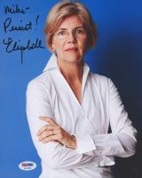 """Elizabeth Warren Signed 8x10 Photo Inscribed """"Persist!"""" (PSA Hologram) at PristineAuction.com"""