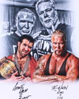 "Scott Hall & Kevin Nash Signed WWE 16x20 Photo Inscribed ""2 Sweet"" & ""N.W.O 4 Life"" (JSA Hologram) at PristineAuction.com"